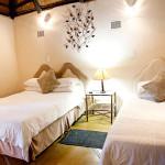 Lalapanzi hotel standard twin room